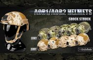 FMA: Helmets in NEW AOR1 and AOR2 pattern