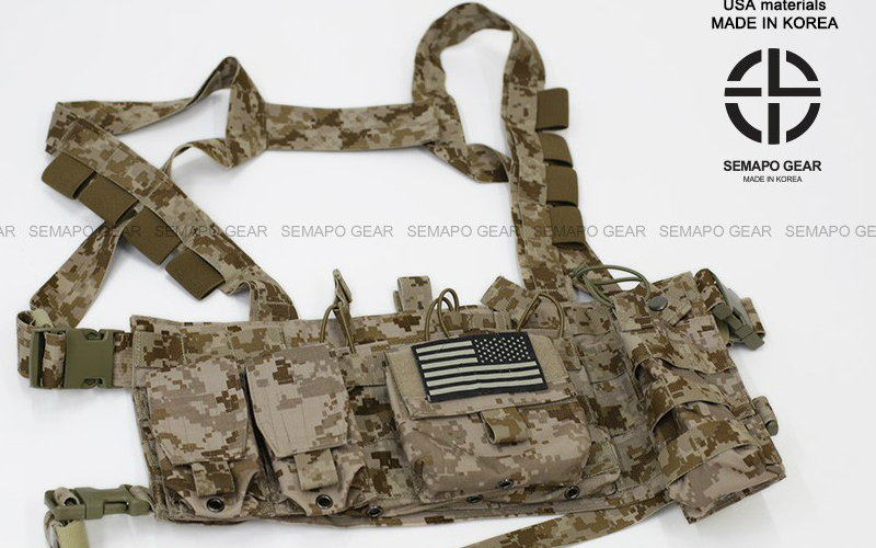 SEMAPO GEAR: DG3 Chest Rig is in stock in AOR1 and Multicam, pouches including