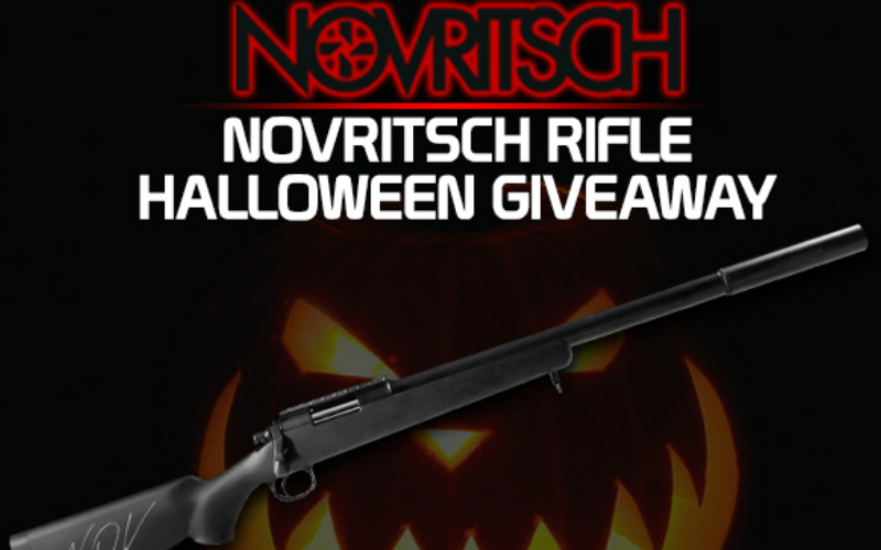 REDWOLF - NOVRITSCH rifle HALLOWEEN GIVEAWAY