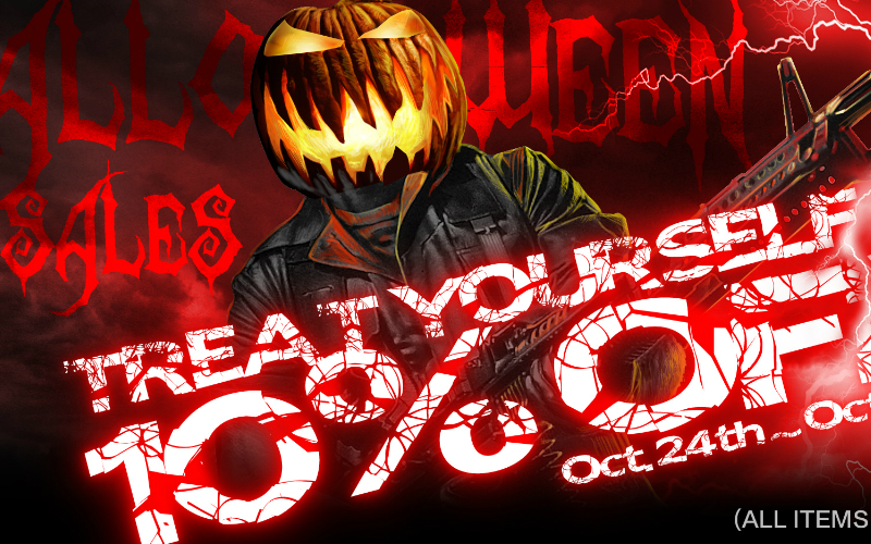 Air Soft Taiwan - Halloween SALE for all you fans