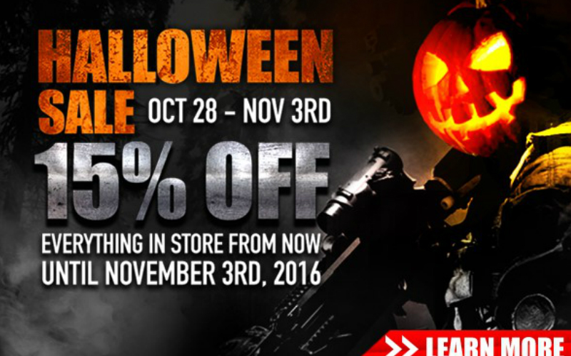 RED WOLF - The Ultimate Halloween SALE is here