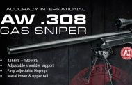 ASG is here with their new GAS operated AW .308 by Accuracy International