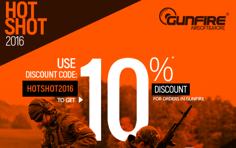 GUNFIRE and their new HOT SHOT Sale