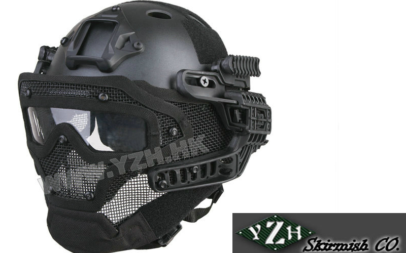 YZH.HK - and the new G4 System PJ Helment+Full Mask