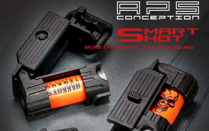 APS - and their new SMART SHOT MINI LAUNCHER.