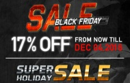 REDWOLF and their awesome BLACK FRIDAY and HOLIDAY SALE