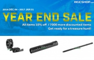 WGCShop.com and their end of the year sale.