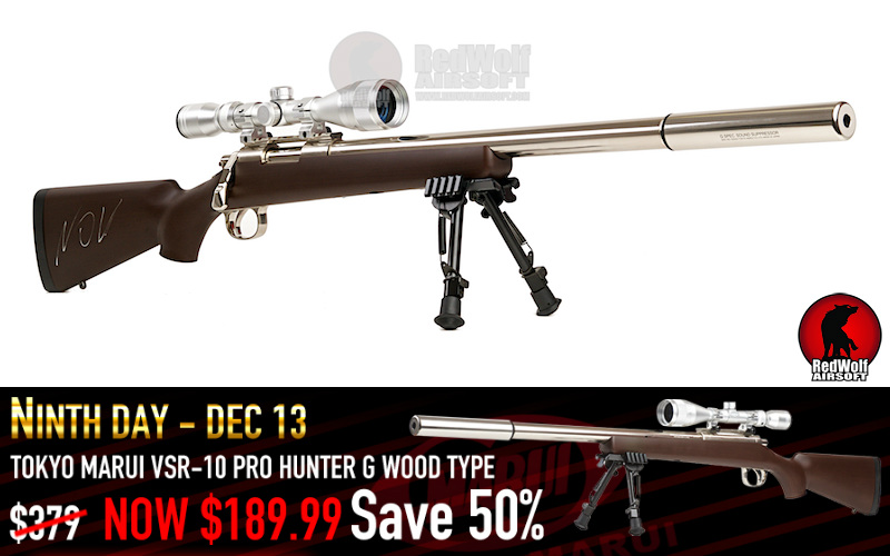 RedWolf and their 15% off on their online store, also half of 12 deals of christmas are gone
