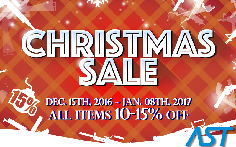 AST is celebrating Christmas with an awesome sale