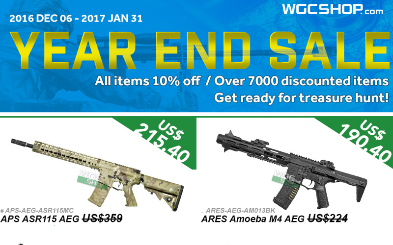 WGC and their end of the year sale