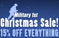 Military1st a christmas sale and goodies from Pentagon and Brandit