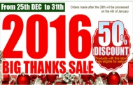 PDI and their big THANK YOU SALE