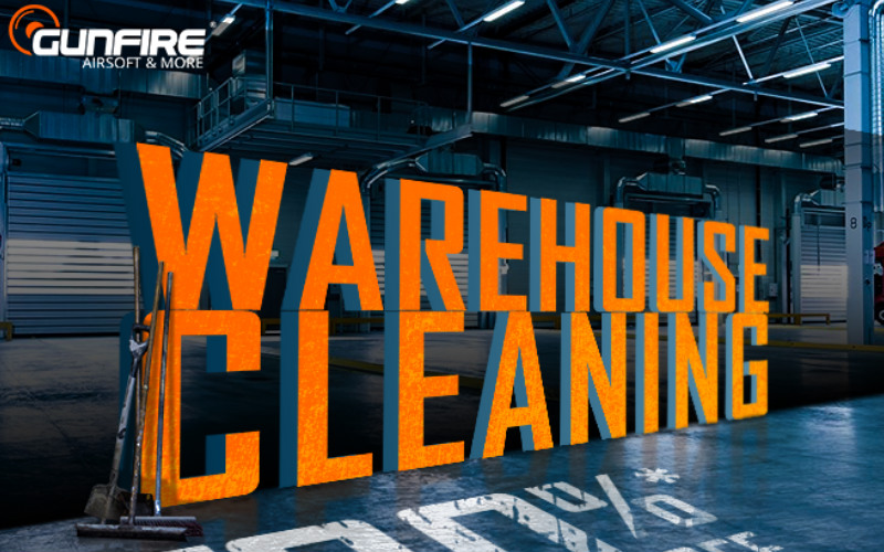 Gunfire and new year Warehouse cleaning