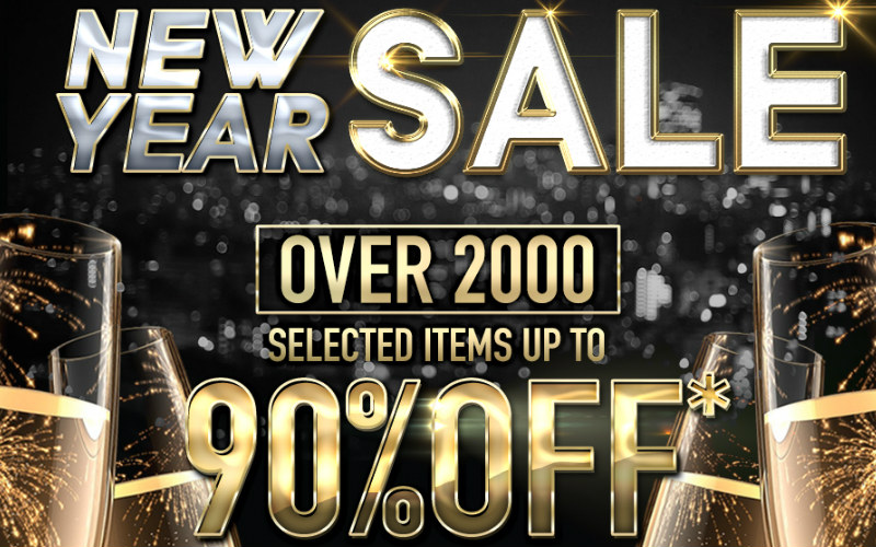 RedWolf and their New Year Sale