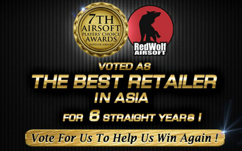 RedWolf reminds you to vote for them in The Best Retailer in Asia