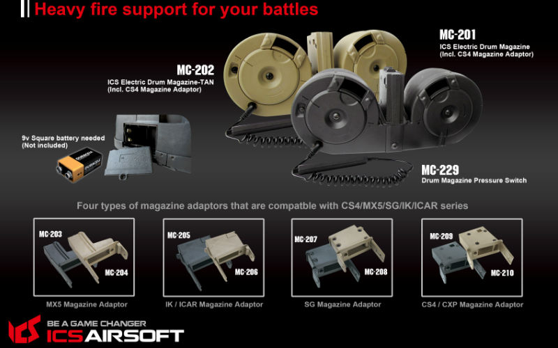 FireSupport and the bucket load of new gear on their site.