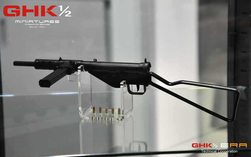 GHK and 1/2 STEN MKII Miniature model is in stock