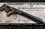 UNIVAIRSOFT is offering to you the best looking SILVERBACK SRS KRYPTEK