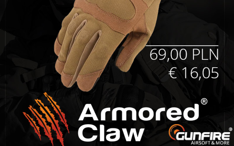 GUNFIRE and all new models of ClawGear gloves