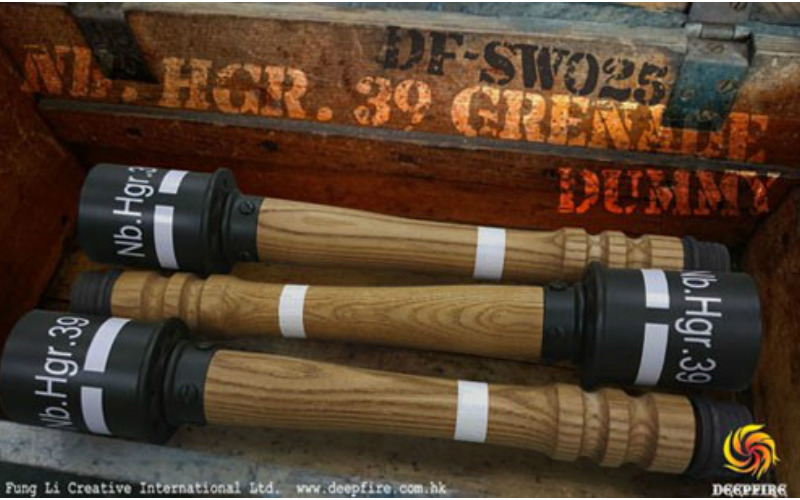 DEEPFIRE is proud to announce the Nb. Hgr.39 Grenade (Dummy)