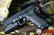APS and their new addition BLACK HORNET FULL AUTO PISTOL