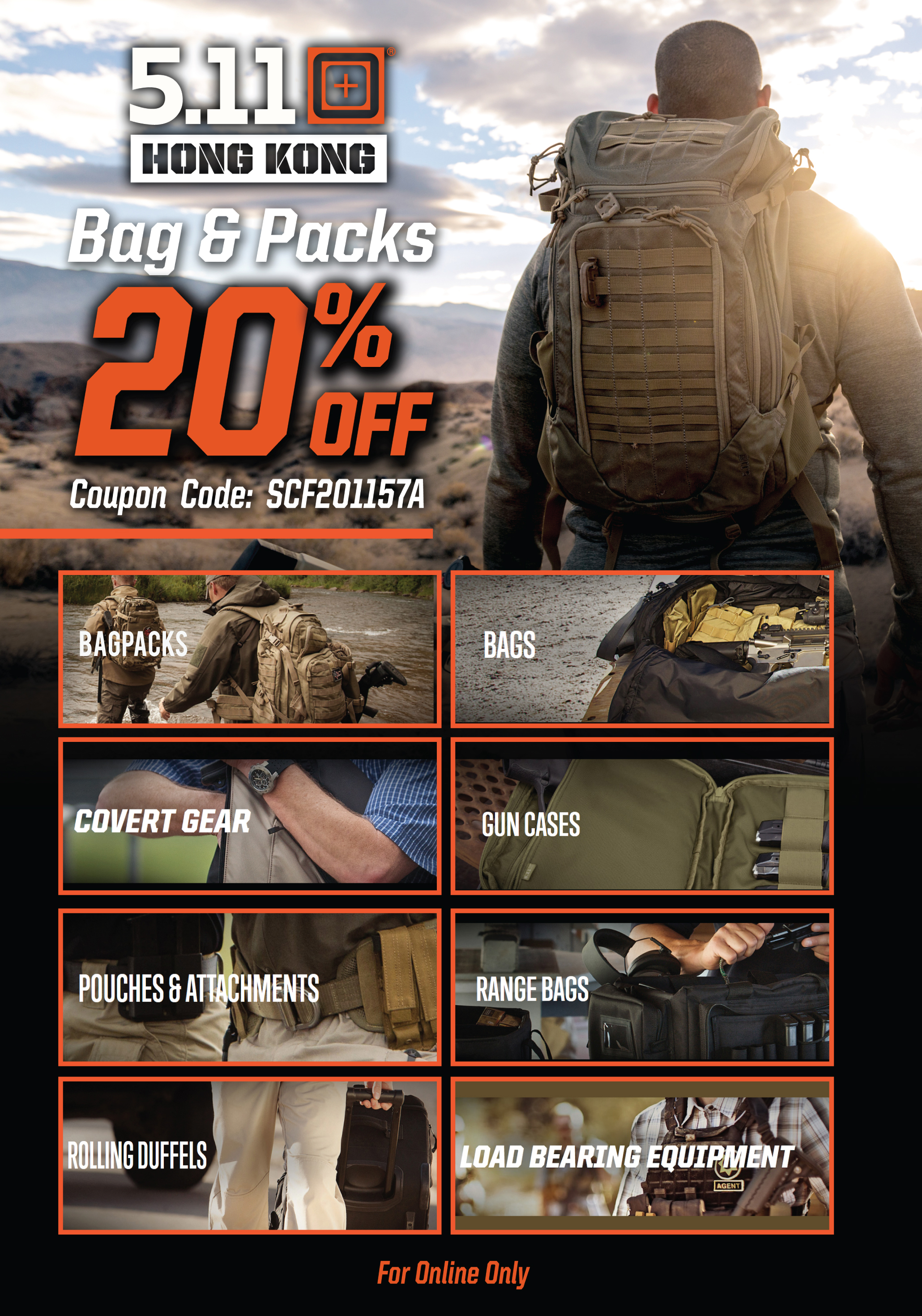 511 Bags & Pack Special - 20% OFF Ver2