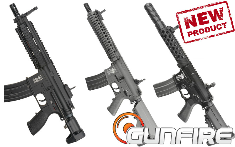 Gunfire is proud to announce the arrival of new models of Specna Arms rifles