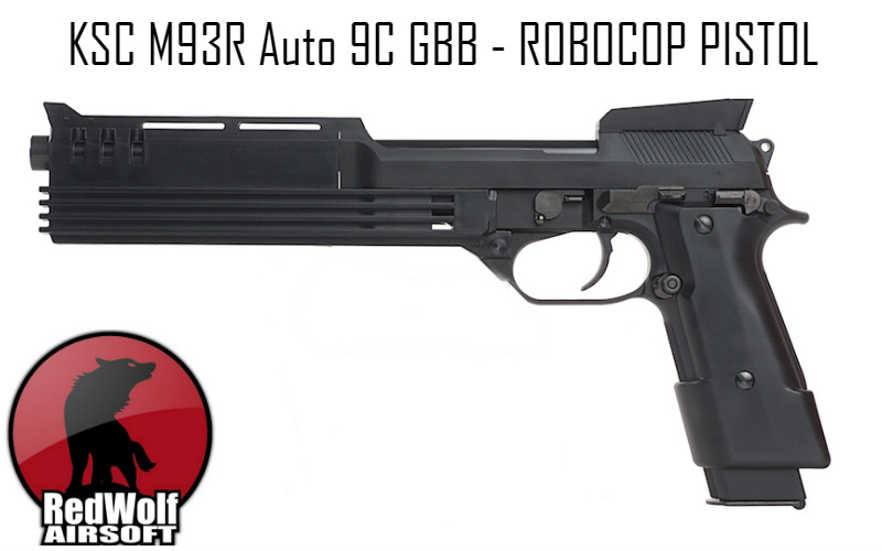 RedWolf whose stock now include Robocop pistol Auto 9C GBB