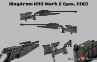 KingArms K93 Mark 2 & 20 Round Gas Magazine are available now