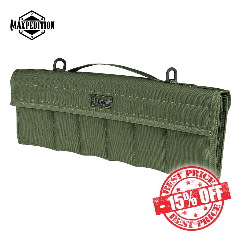 Maxpedition Dodecapod 12-Knife Carry Case OD Green Sale insta