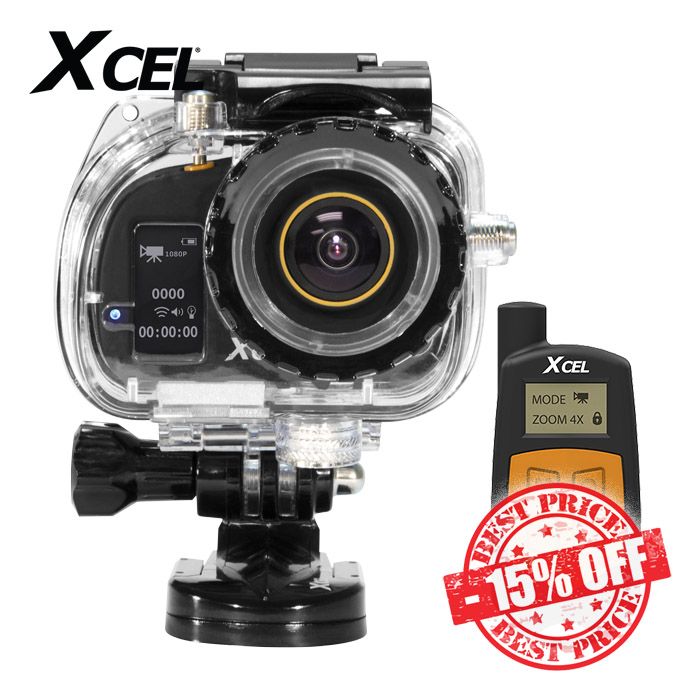 Xcel HD2 Sport Edition Camera Black Sale insta