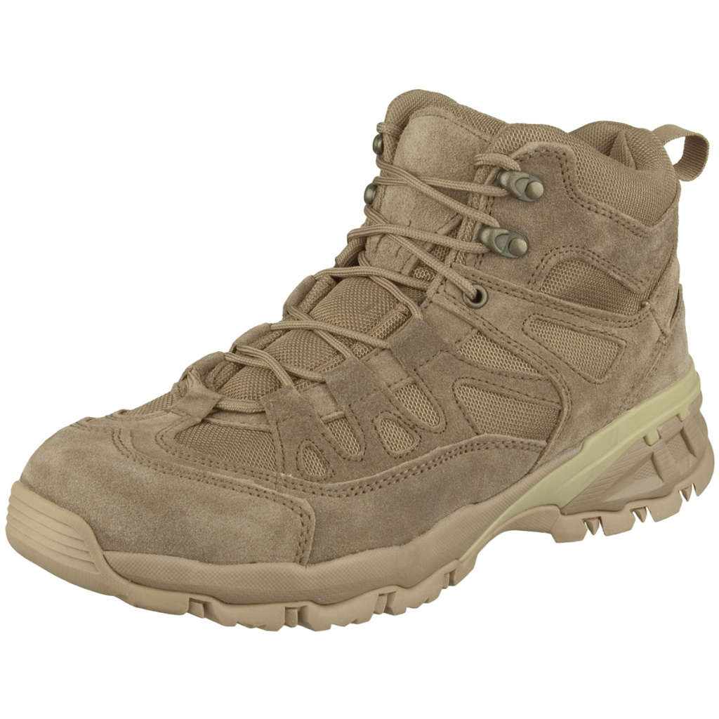 brandit outdoor trail midcut boots camel 1