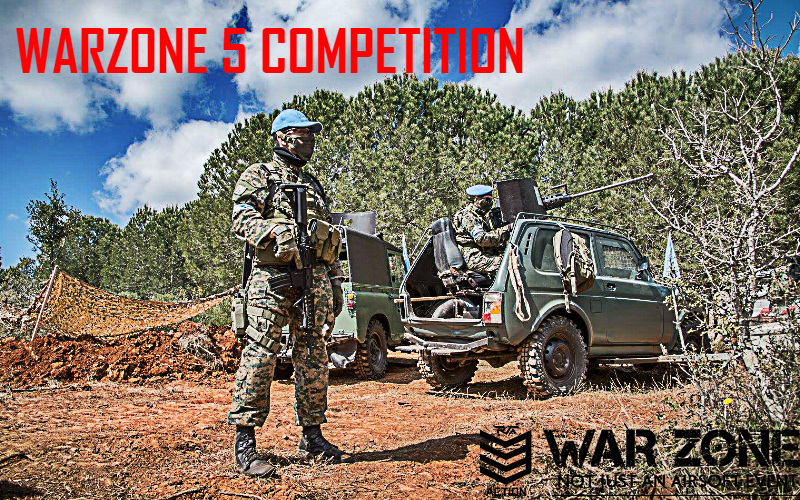 WAR ZONE 5 the GREEN ZONE COMPETITION - GET YOURSELF SOME TICKETS