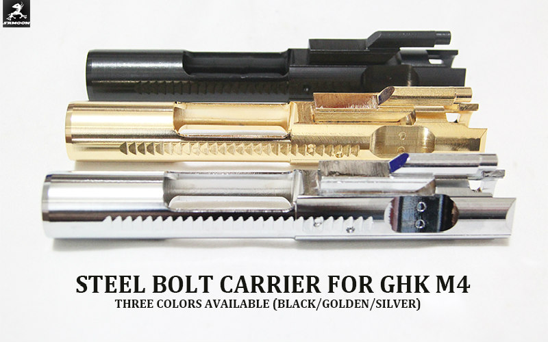 SAMOON: NEW GBL CNC Steel Bolt Carrier for GHK M4