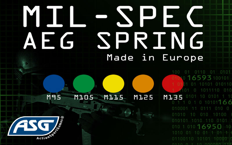 ASG and their new line of AEG springs
