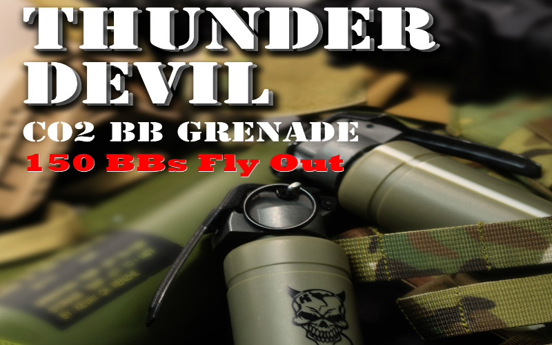APS presents their new Thunder Devil grenade.