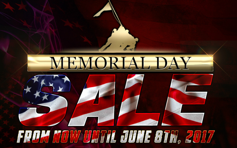 RedWolf MEMORIAL DAY SALE