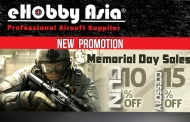 eHobbyAsia Memorial Day Sales& Hot Product
