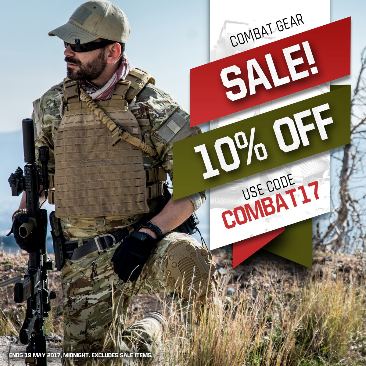 Combat Gear Sale 2017 Instagram