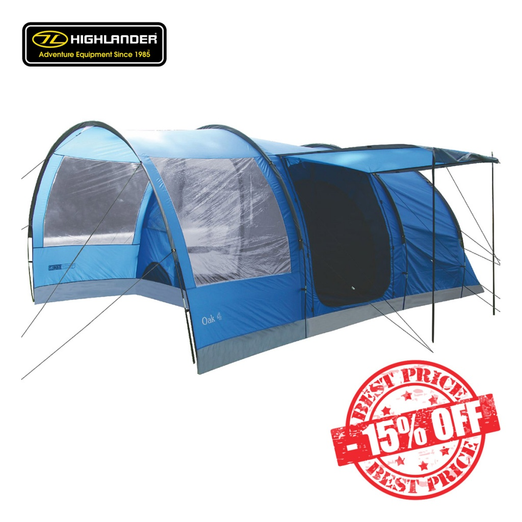 Highlander Oak 4 Tent Imperial Blue sale insta