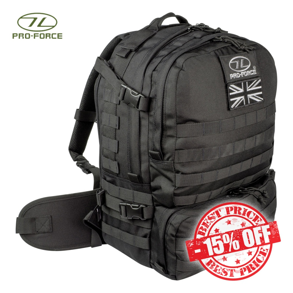 Pro-Force Tomahawk Elite LX Rucksack Black sale insta