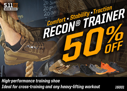 16001 - RECON® TRAINER 50% Off - Low