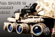 FMA and their new GPNVG 18 DUMMY DE/BLACK