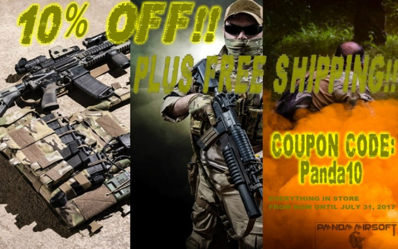 Summer Savings - 10% Off at Panda Airsoft
