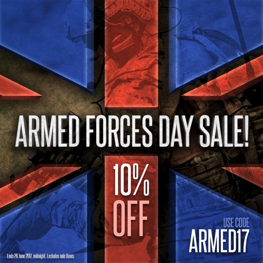 Armed Forces Day Sale 2017 Instagram