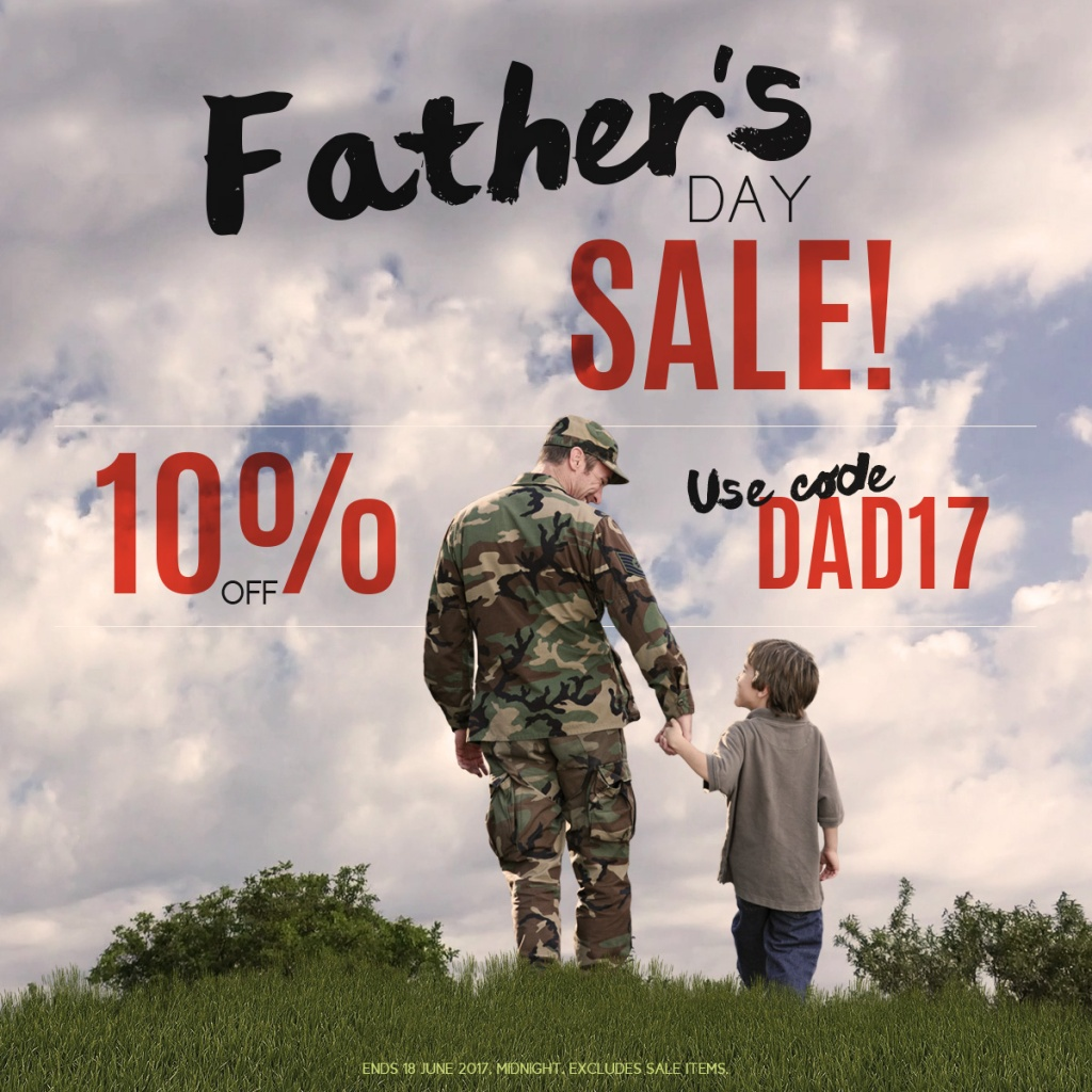 Father's Day Sale 2017 Instagram 1