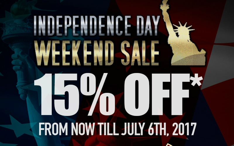 RedWolf - Independence day sale and much much more