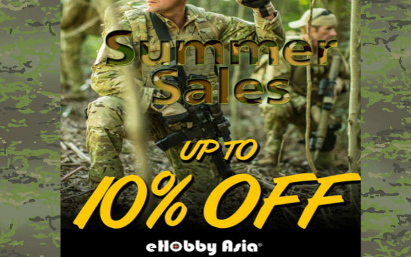 eHobbyAsia Summer sales going strong.