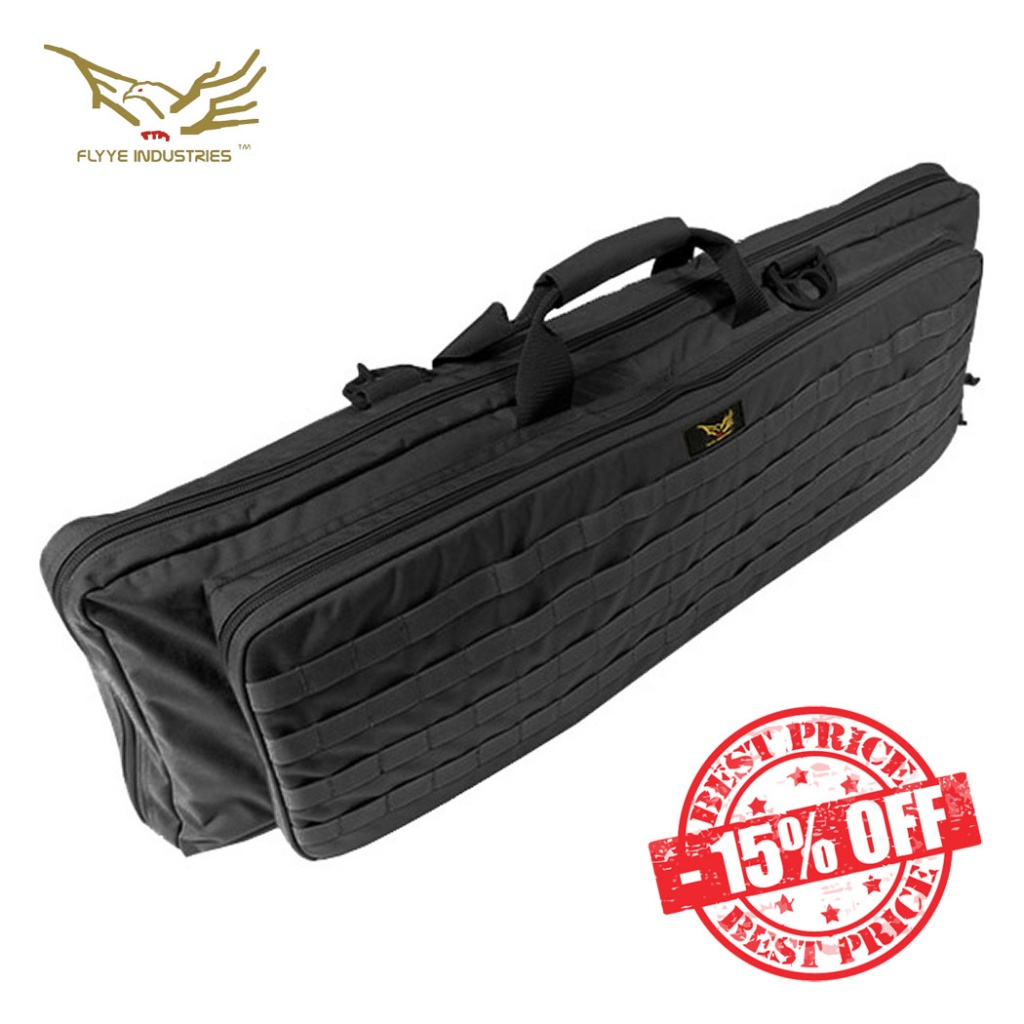 Flyye Deformation Rifle Carry Bag MOLLE Black insta sale