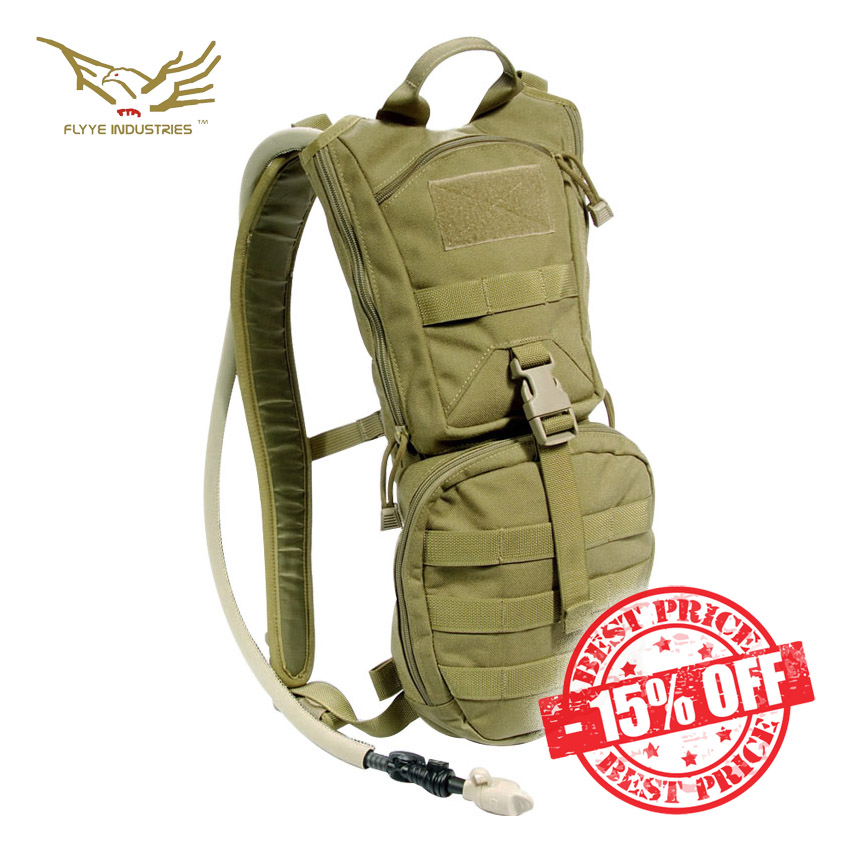 Flyye EDC Hydration Backpack Khaki sale insta